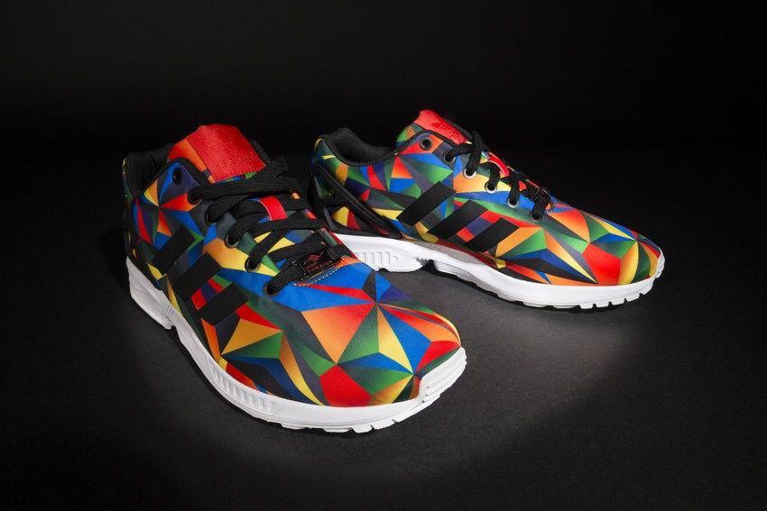 huge discount d8d2a fac78 adidas ZX Flux Macro Prism just perfect