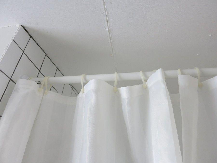 Duschvorhangstange Gleitet Besser Duschvorhangstange Und Haushalt