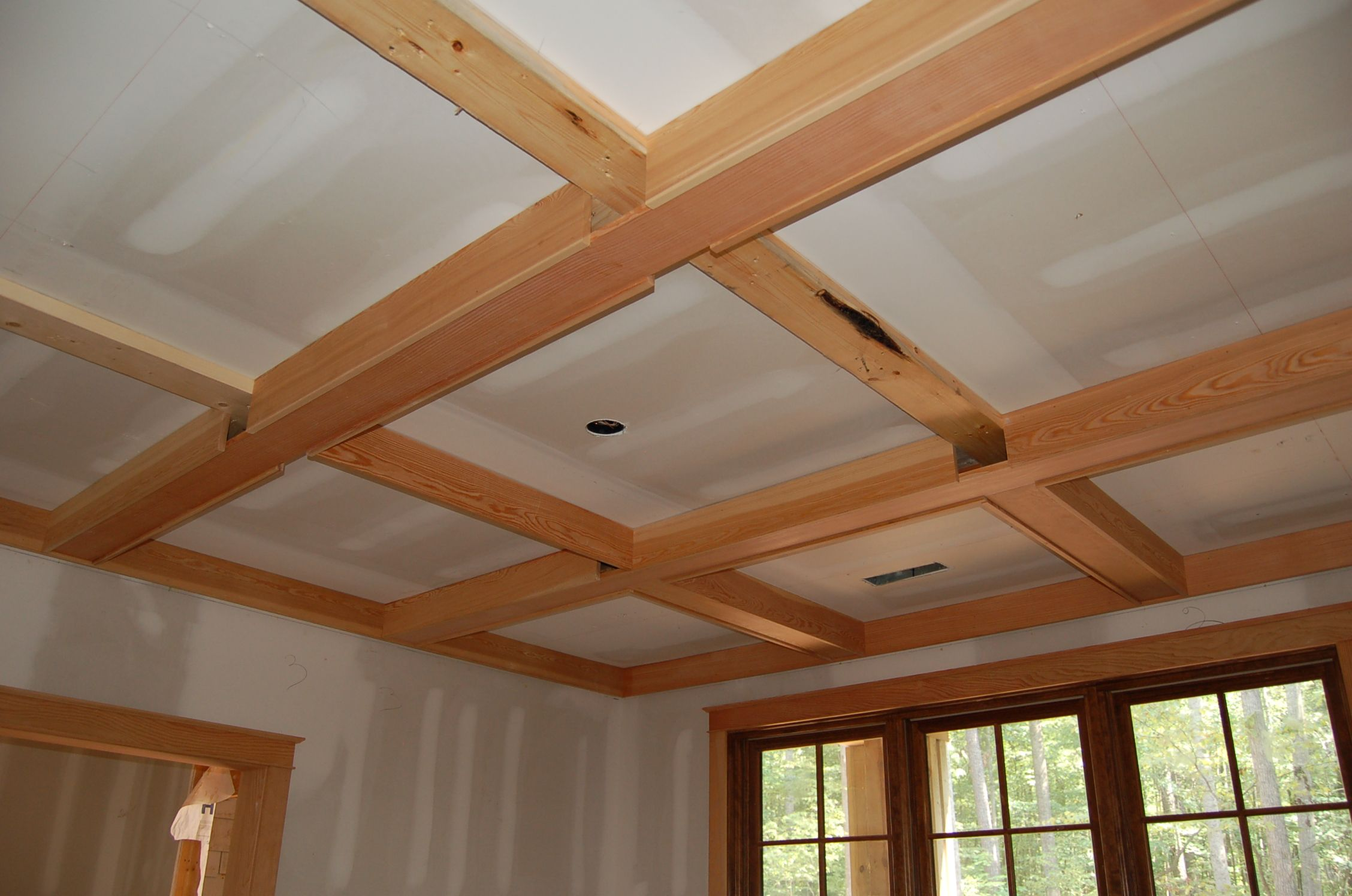 How to build a coffered ceiling - Ceiling Beams Ideas Ceiling You Could Do A Coffered Ceiling An Infinite Amount Of Options For The Home Pinterest Coffered Ceilings Coffer And