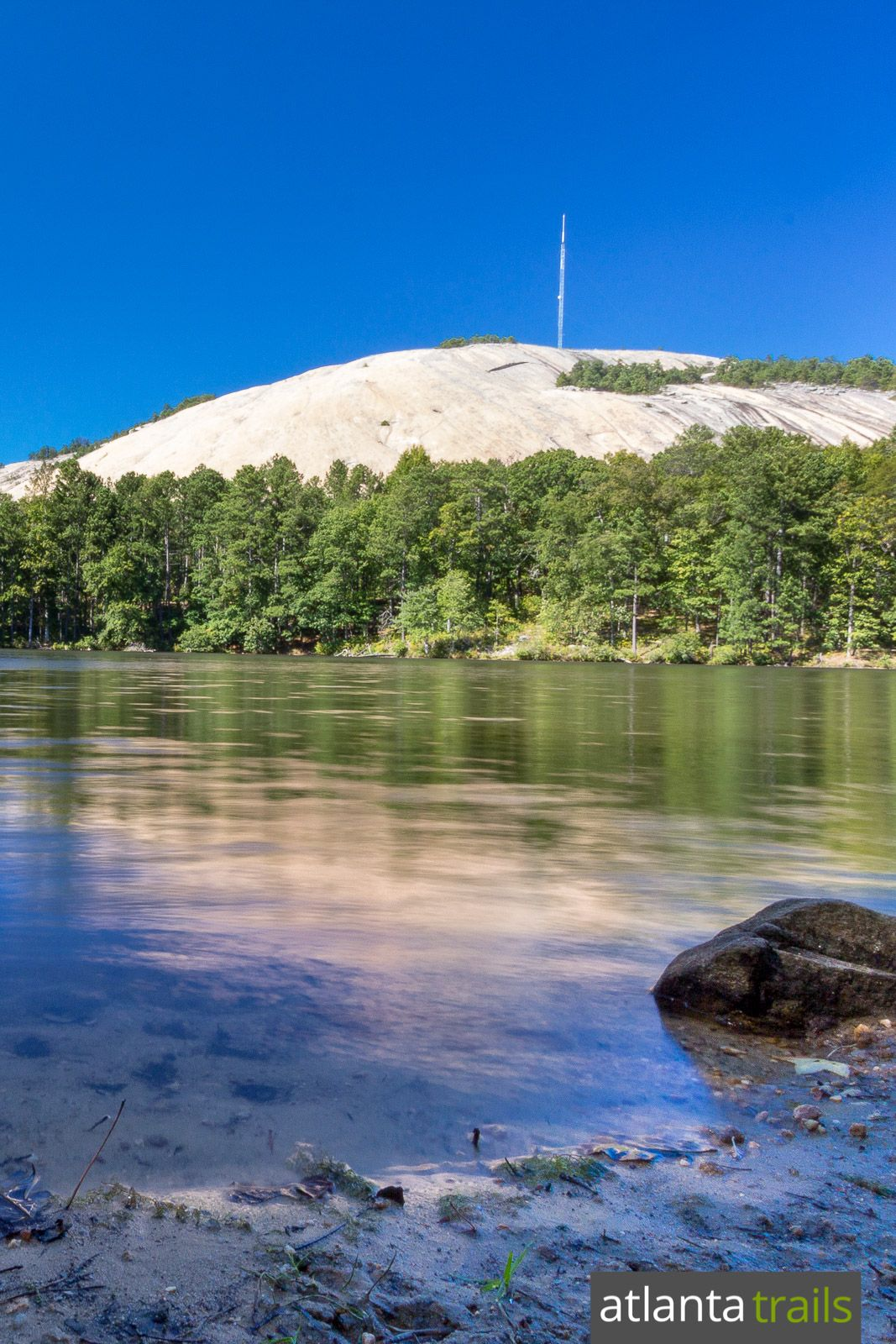 Stone Mountain Trail Hiking The Walk Up Cherokee Trails Best