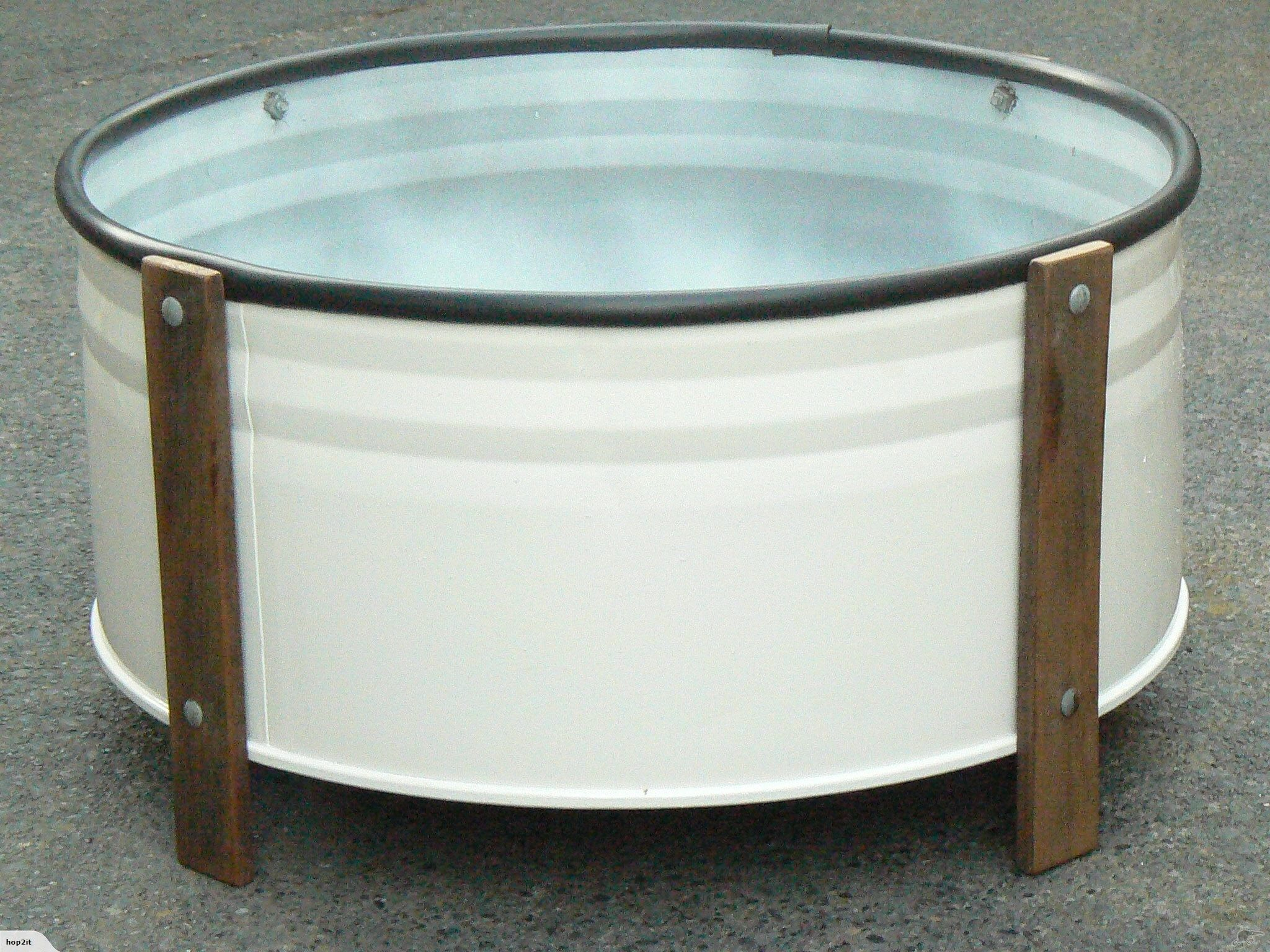 PLANTER BOX: | Trade Me ~ Up-cycled from a steel 44 gallon drum ...