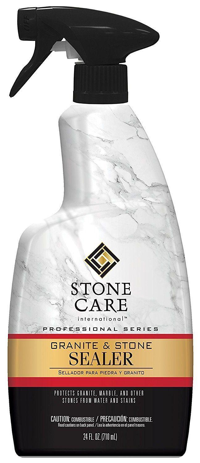 Weiman 5187 Stone Care International Granite Stone Sealer Spray Quart Granite Stone Granite Cleaner Granite
