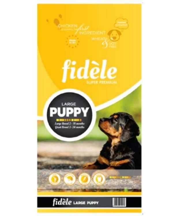 Fidele Puppy Food For Large Breed 15 Kg Dog Food Online Puppy Food Best Dog Food