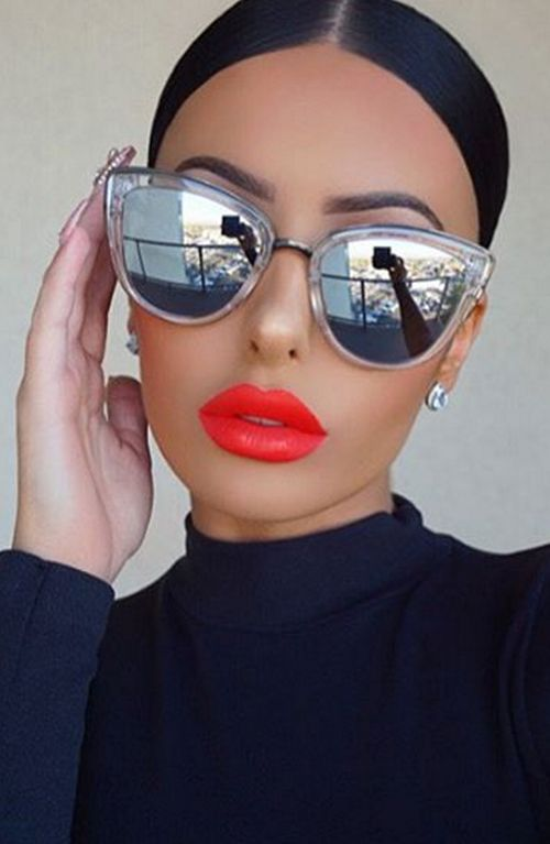 16a28262e491f My Girl Clear As Seen On Amrezy My Girl Clear and Silver Sunglasses by Quay  Australia. Their best selling style! Shop now.