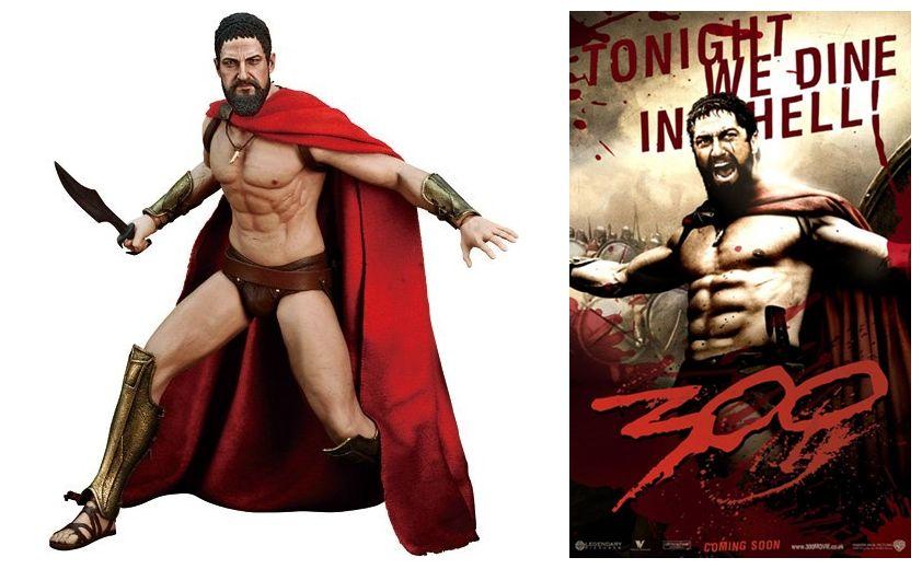 kunst new movie poster king leonidas