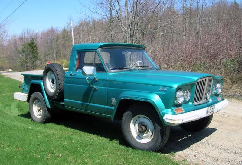 64 Gladiator With Factory Wrap Around Rear Bumper Jeep Truck