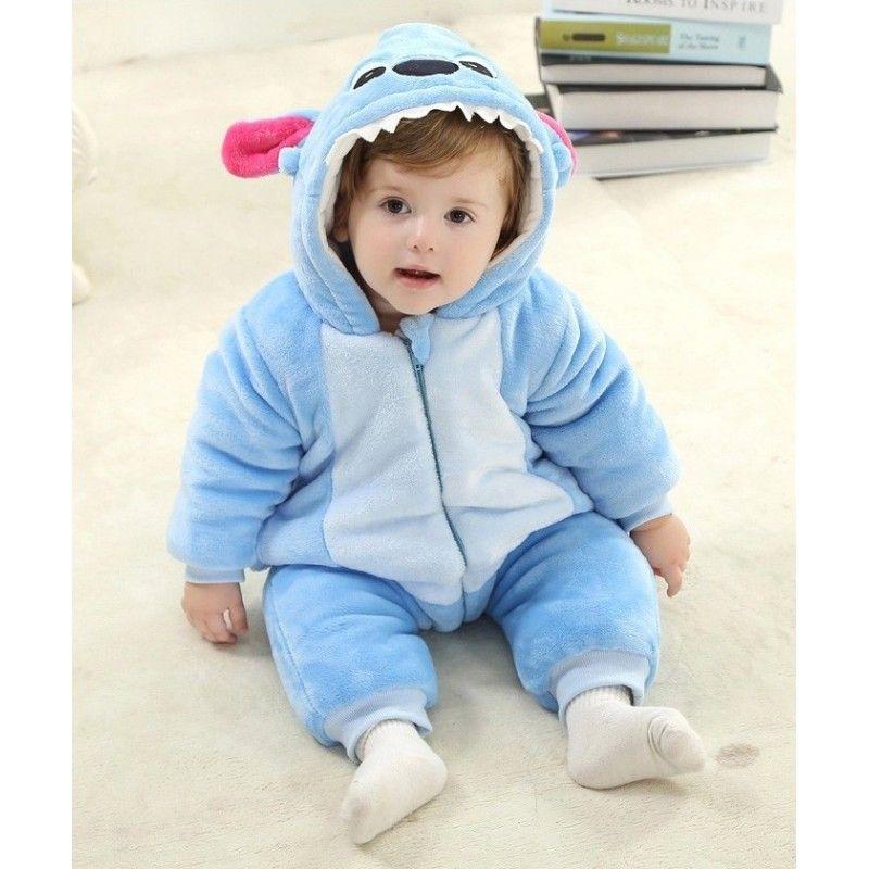 2fc2f630b Blue Stitch Kigurumi Onesies Pajamas Costumes Spring Pajamas for ...