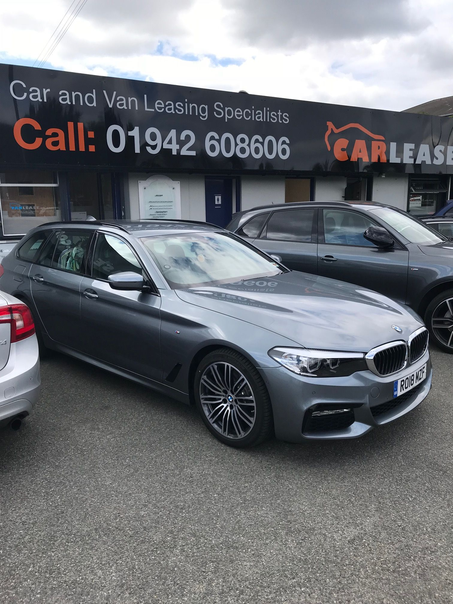 The Bmw 5 Series Touring 520i M Sport 5dr Auto Cars Carleasing