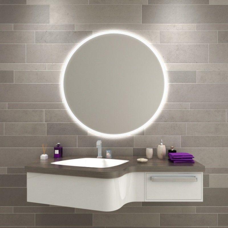 Beleuchteter Spiegel Rund Kaufen Charon Beleuchteter Spiegel