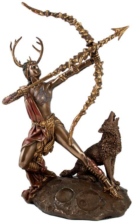 Artemis Greek Goddess Of The Hunt Statue