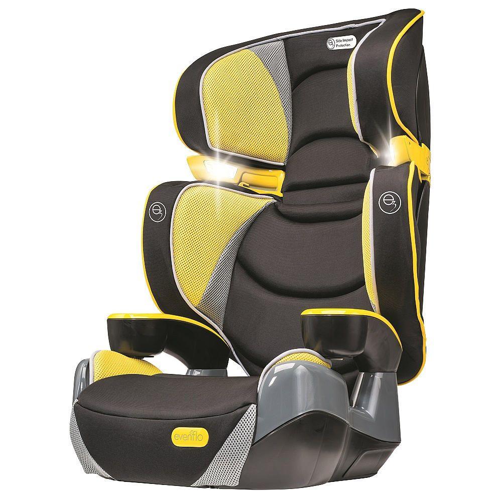 Evenflo RightFit Booster Car Seat - Citrus - Evenflo - Babies