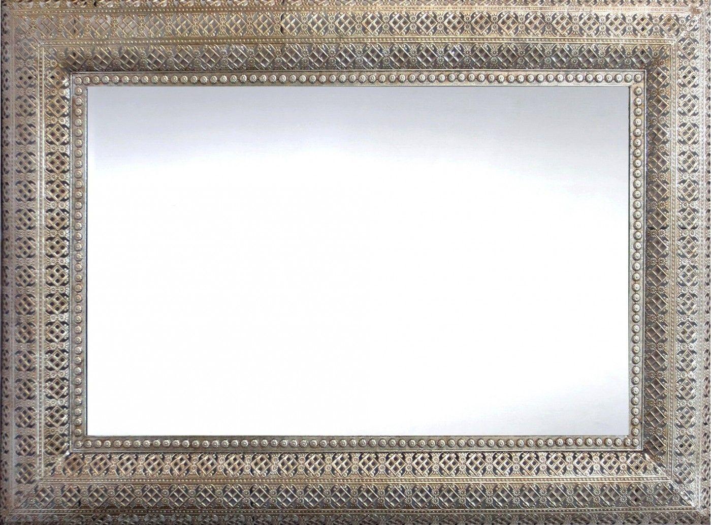 Interlace Mirror Champagne Rectangular Wall Mirrors Interiors