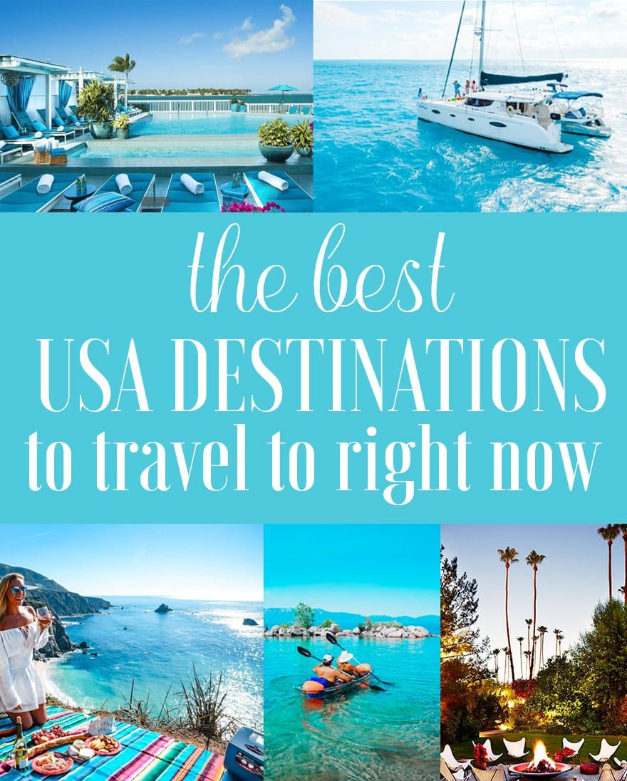 The Best Destinations in the United States - Where to ...