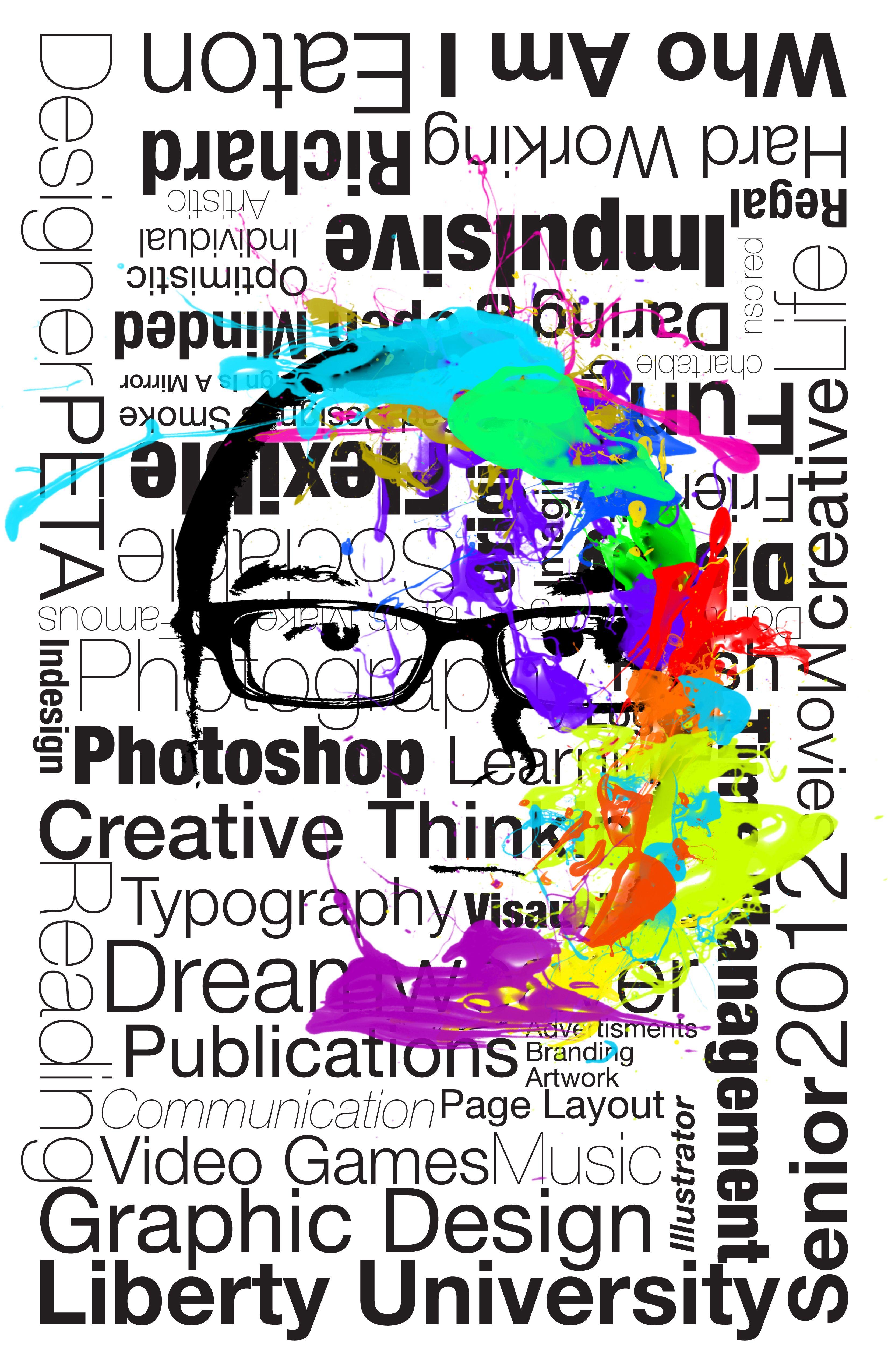 Poster design blog - A Self Promotion Poster Self Promotiondesign Blogs