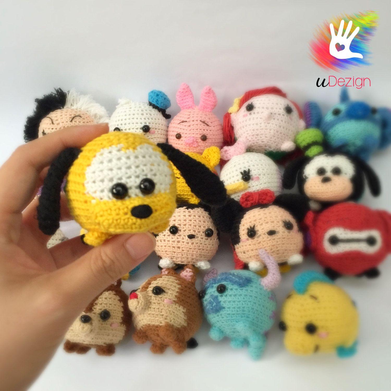 Tsum Tsum Pluto Pattern por uDezignCrafts en Etsy