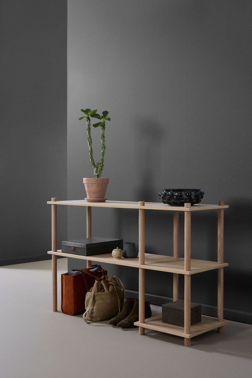 Minimal Open Shelving Can Be Used In The Dining To Display Items You Want To Show Off Or Need To Keep To Hand Peppersq Spacemaking Diningroom Diningroomdec
