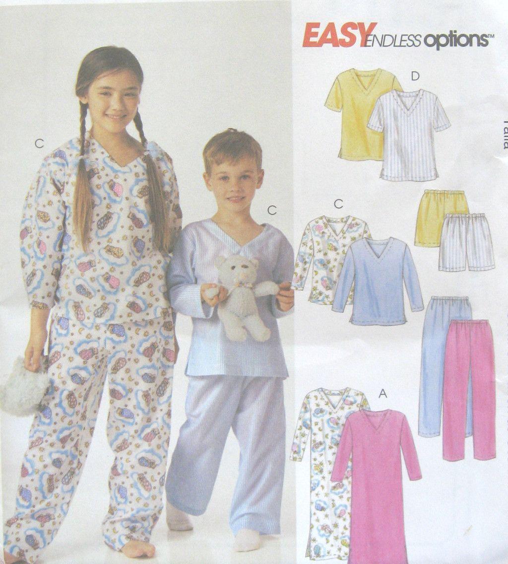 Free pajama sewing patterns girls childs boys girls nightshirt free pajama sewing patterns girls childs boys girls nightshirt pajama top pants shorts sewing pattern jeuxipadfo Gallery
