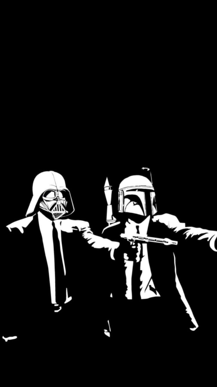 Awesome Iphone Wallpaper Tumblr 460 Star Wars Wallpaper Star Wars Wallpaper Iphone Pulp Fiction