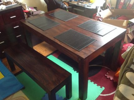 gumtree ❤ Buildings  Decor Pinterest Bench seat, Tables and