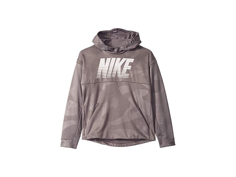 Nike Kids Therma All Over Print Pullover Hoodie (Big Kids