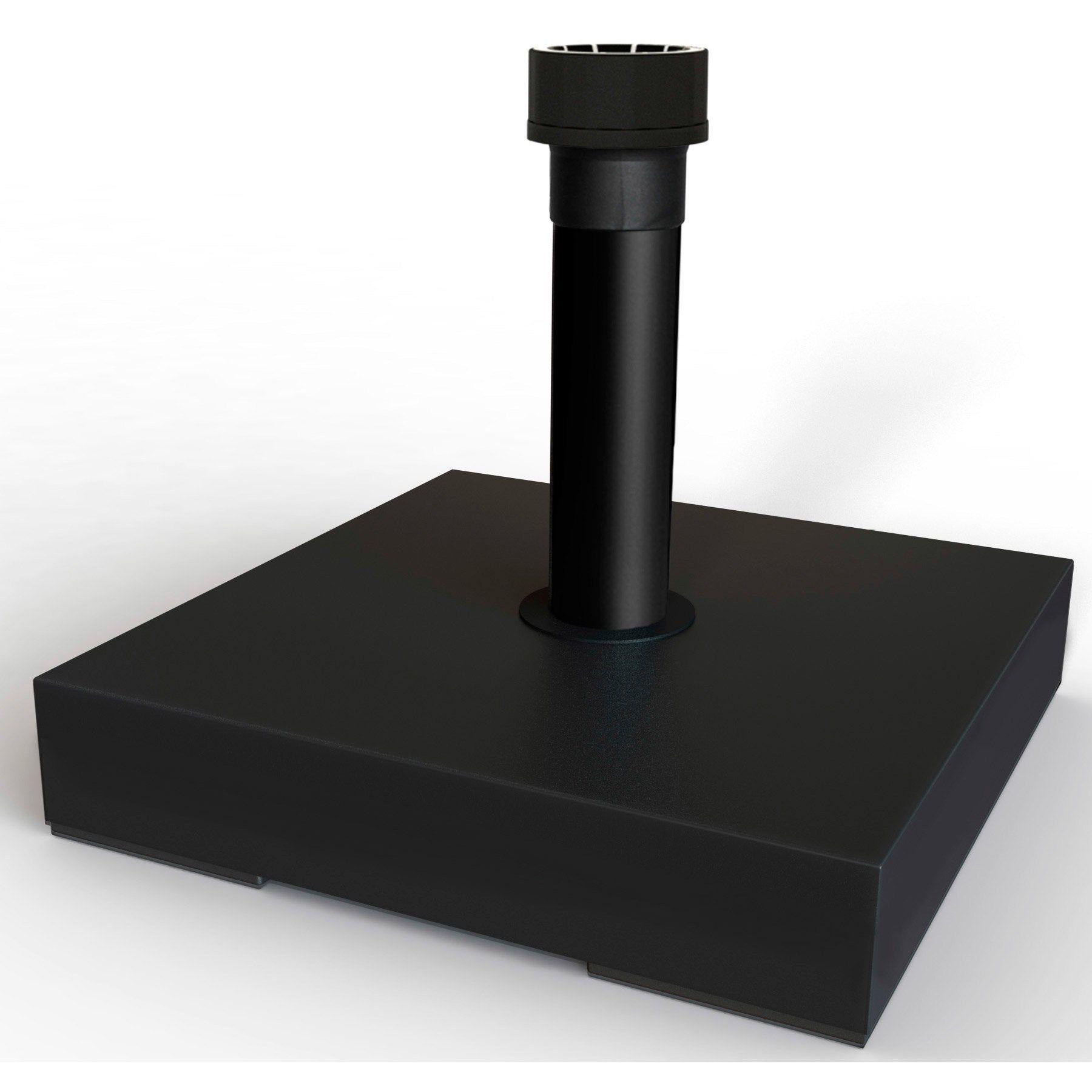 Pied de parasol lesté noir HELCOSOL en 2020   Parasol, Pieds