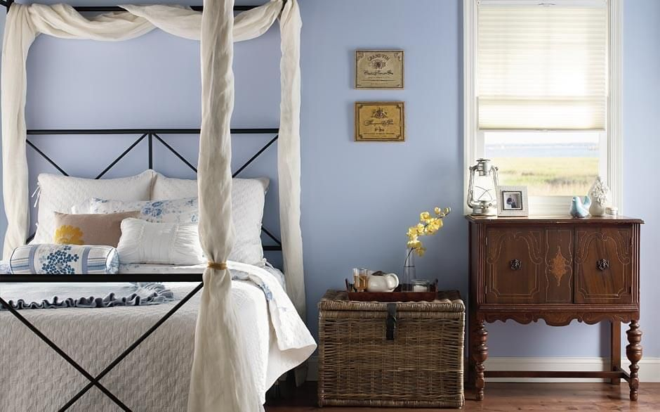 Behr® Country Bedroom | New House Ideas | Bedroom paint colors, Behr ...