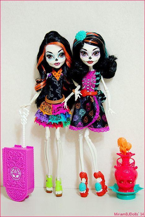 Skelita Calaveras Custom Monster High Dolls Monster High Dolls Monster High Characters