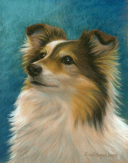 Mollie by Rita Kirkman Pastel ~ 14 x 11 inches