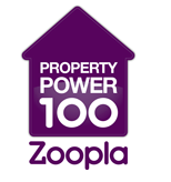Proud to be Number 55 in the #Zpp100 UK's most influential estate agents on social media