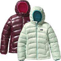 Patagonia Girls Hi Loft Down Sweater Hoody Girls Winter Coats