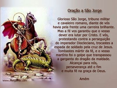 Wwreza Dos Mal Mauscom Oração A São Jorge Frases Pinte
