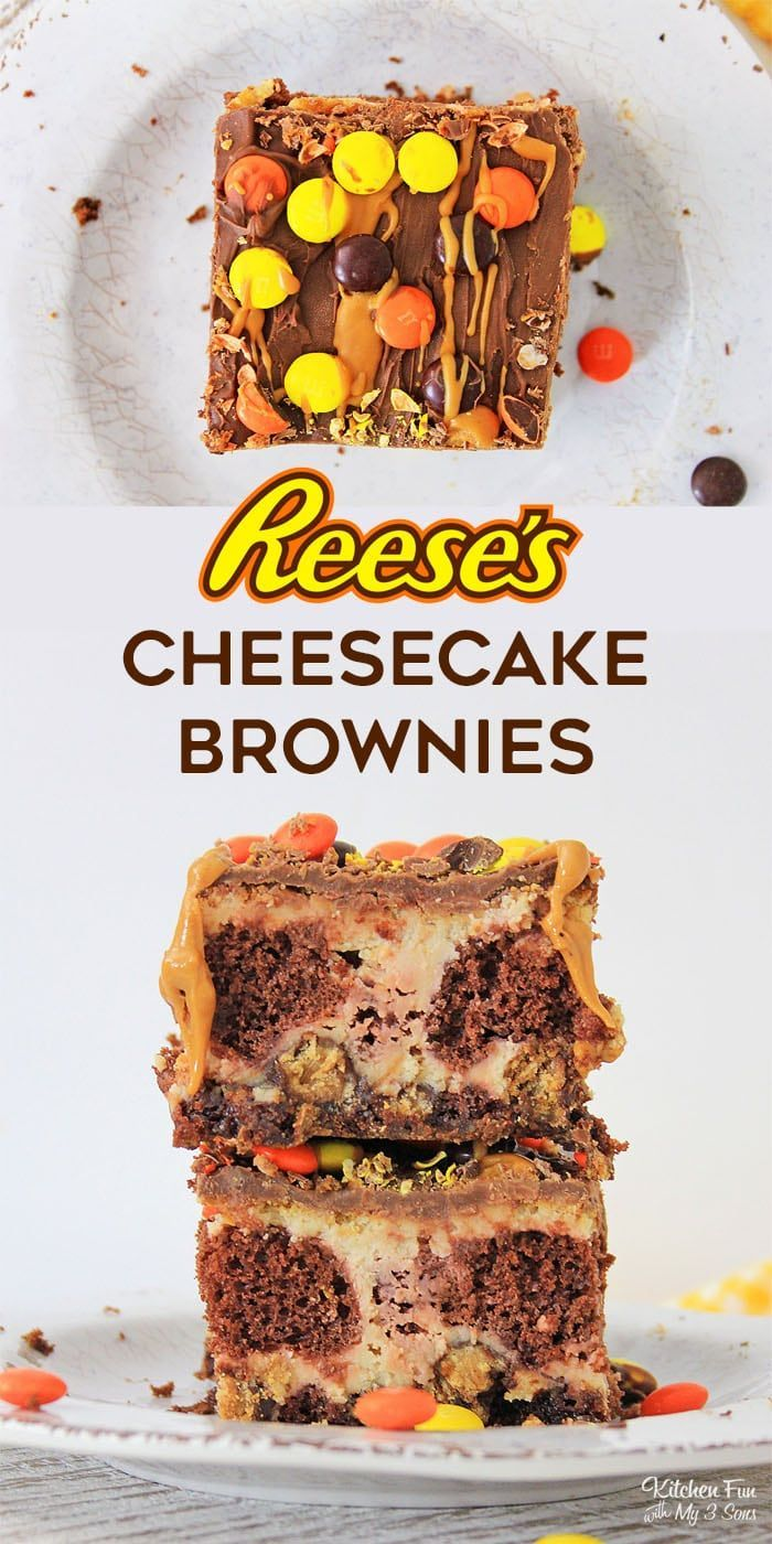 Peanut Butter Cup Cheesecake Brownies Peanut Butter Cup Cheesecake Brownies are the perfect dessert