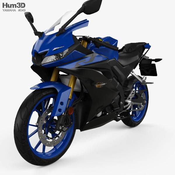 3d Model Of Yamaha Yzf R125 2019 Yamaha Yzf 3d Model Yamaha