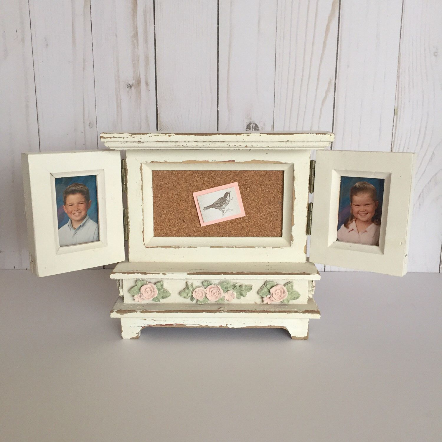 Blush Nursery Frame White Picture Gift For Mom Unique Photo Frames Spring Decor Multiple Pink