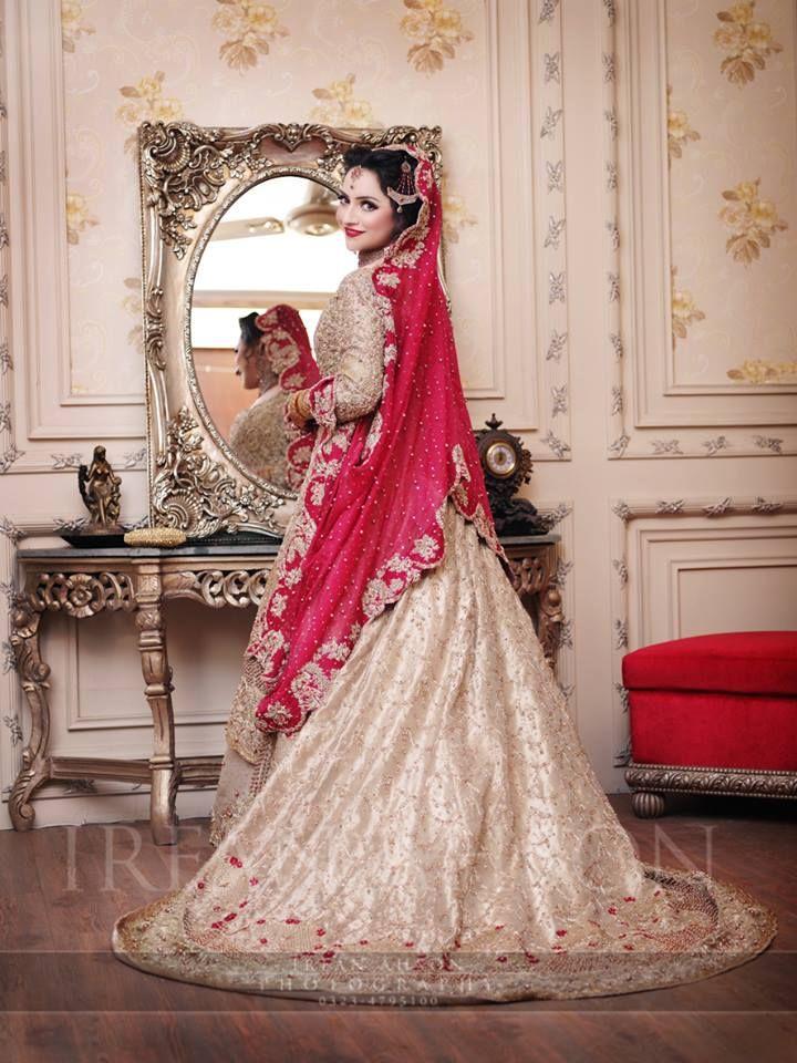 53120431b454 Latest Bridal Barat Wedding Dresses Trends 2016-2017 Collection (20)