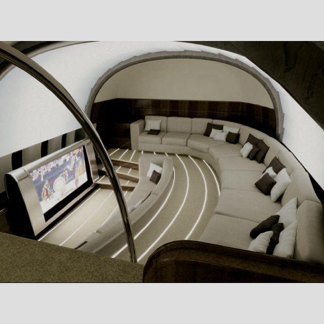 Airbus A380 Interior Private: Private Jet Interior