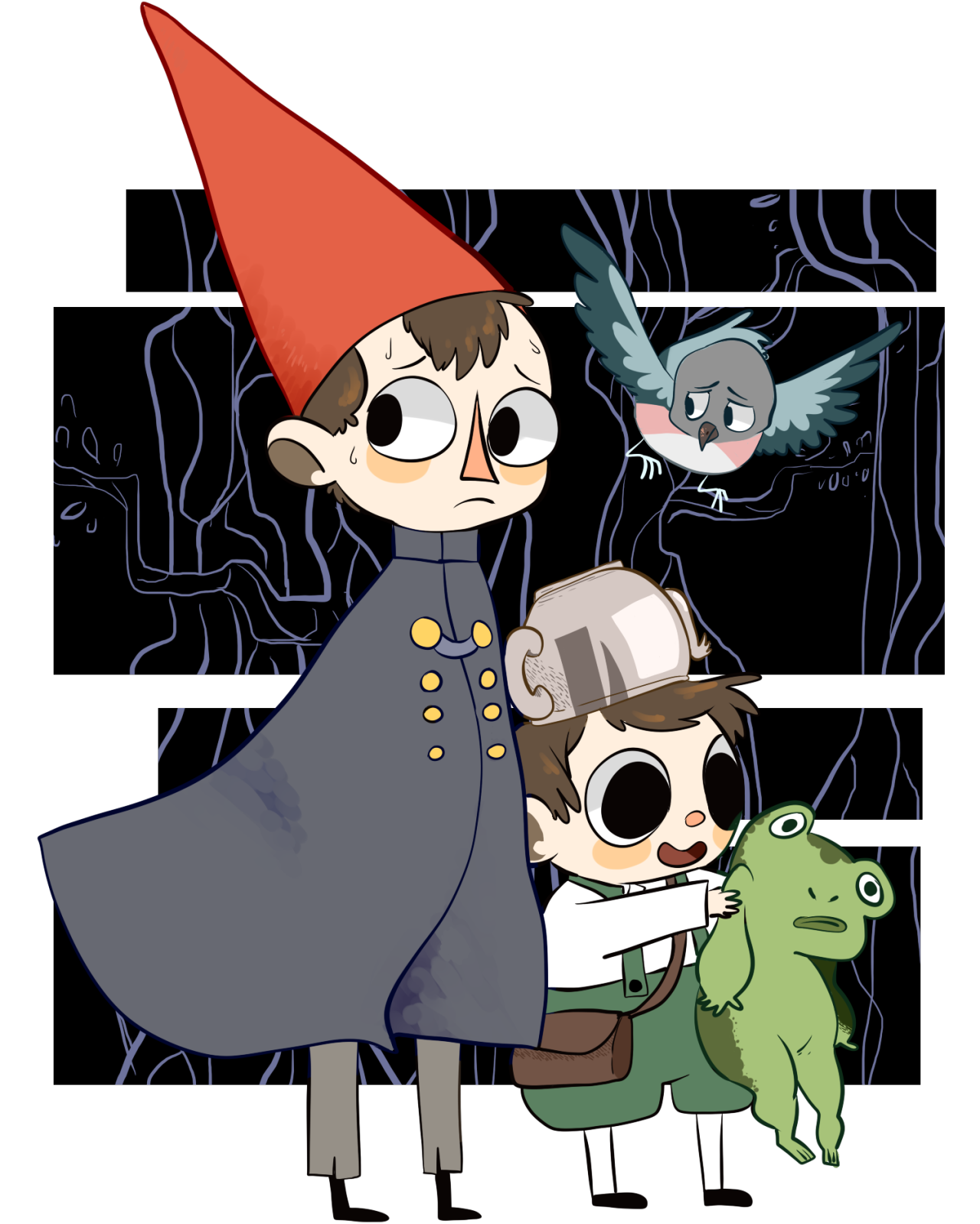Over the garden wall art style  Over the Garden Wall  Wirt Greg and Beatrice  Just some fabulous
