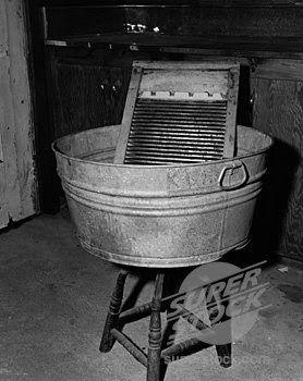 Wash Tubs Vintage Laundry Washboard Wash Tubs