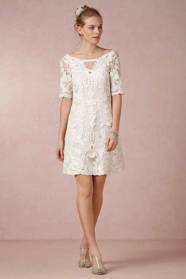 51 hermosos detalles para vestidos de casamiento civil que harán que ...