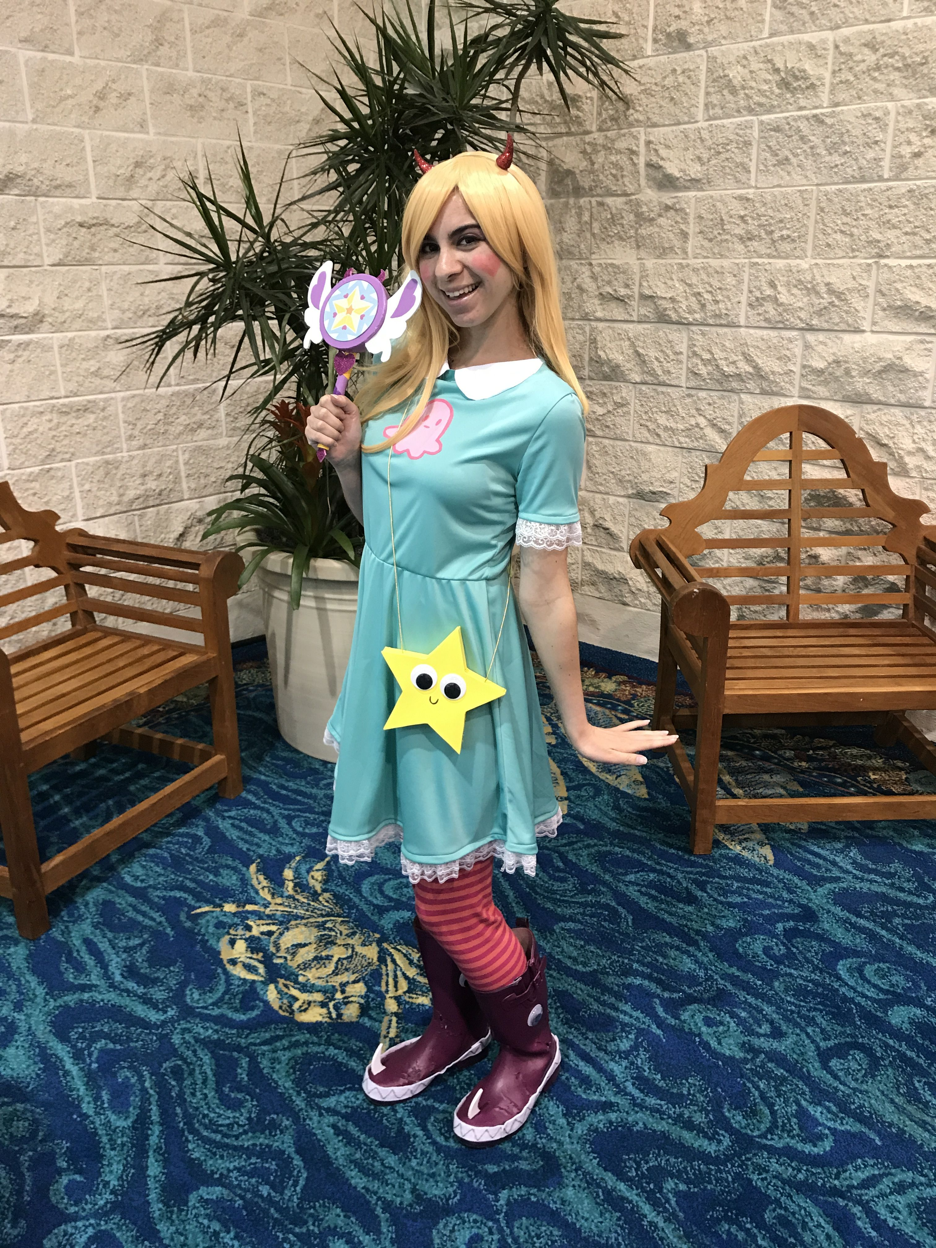Star Vs The Forces of Evil cosplay at Florida Supercon 2018