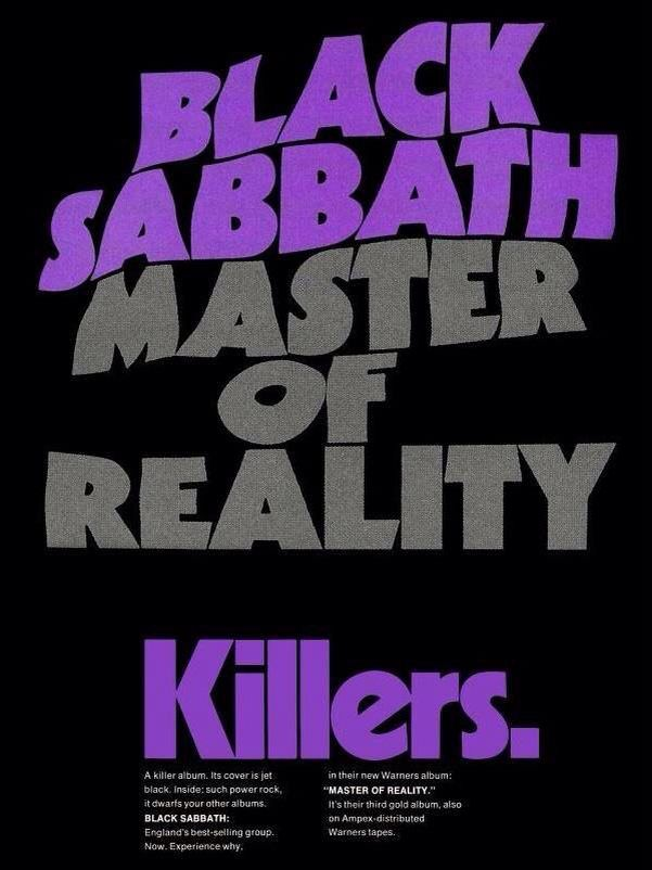 Teen black sabbath master of reality punishment video