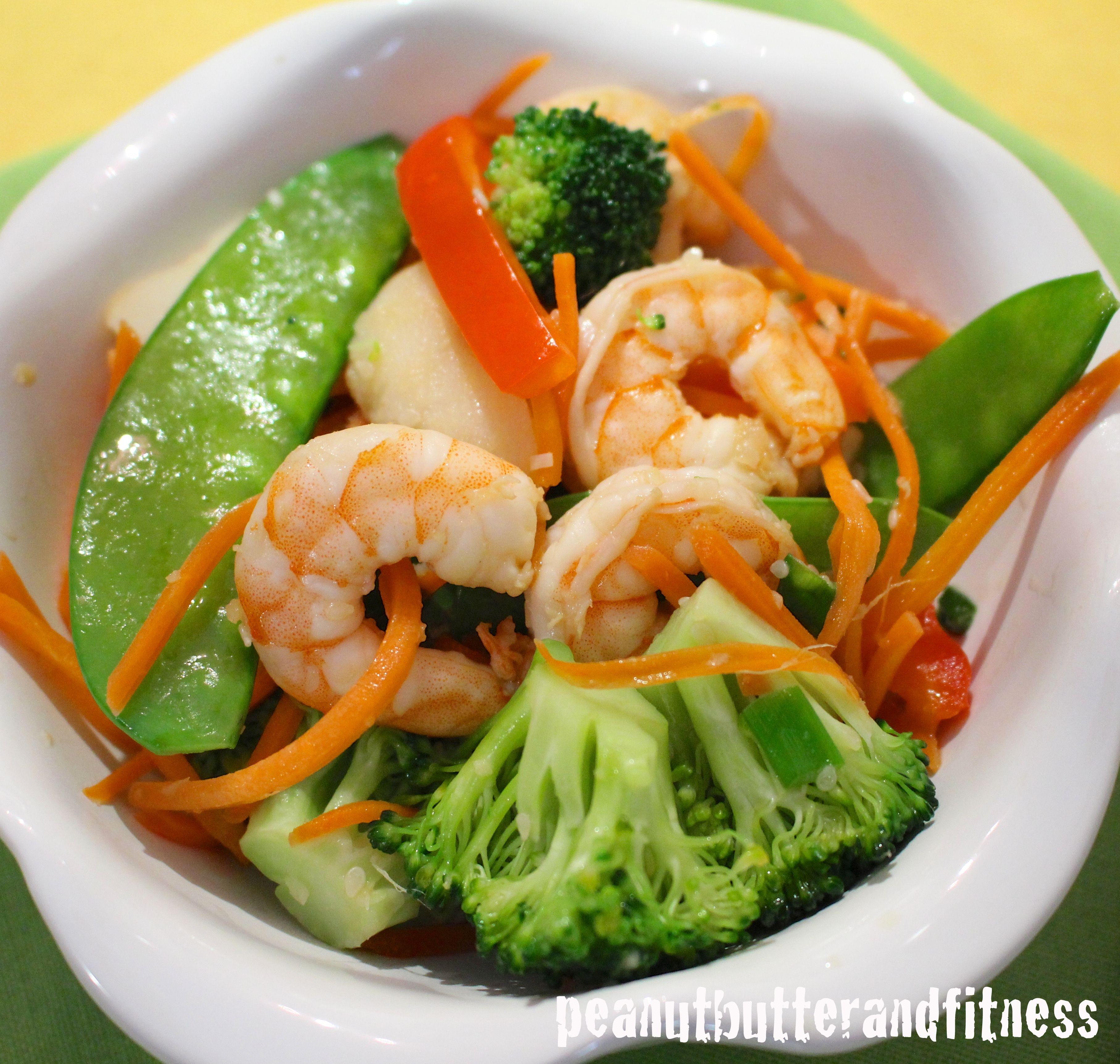 healthy shrimp stir fry calories 274 fat 11 3 g protein 23 g carbs 20 g fiber 5 1. Black Bedroom Furniture Sets. Home Design Ideas