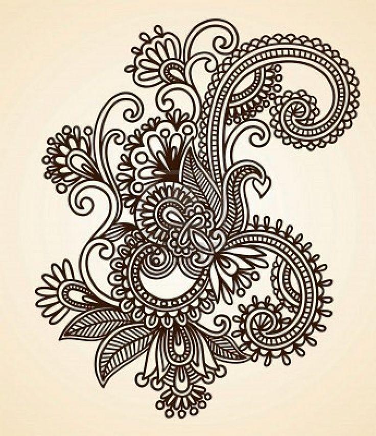 Pretty paisley and scroll work   Tattoo ideas   Pinterest   schwarze ...