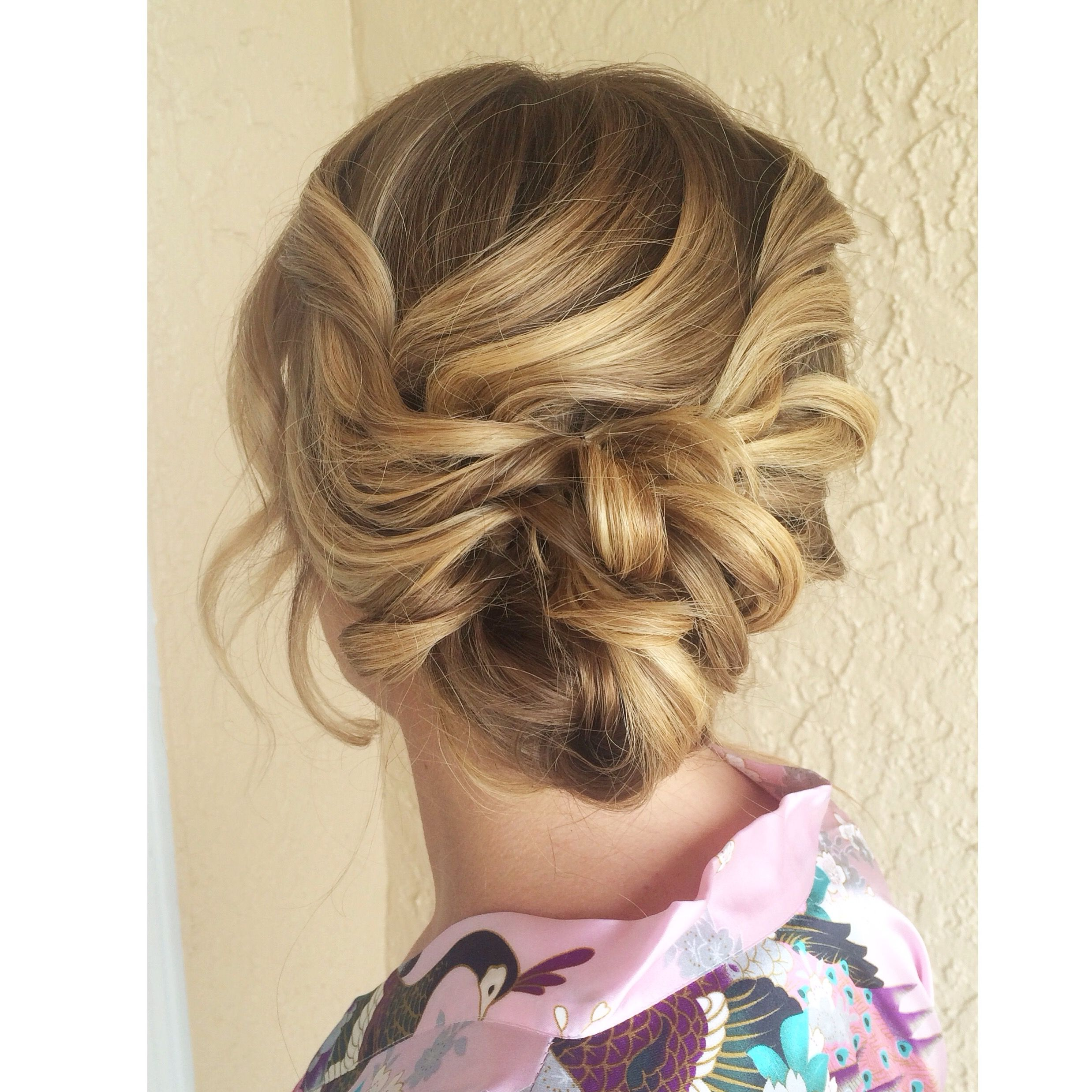 romantic updo - frangipani to you bridal jacksonville beach