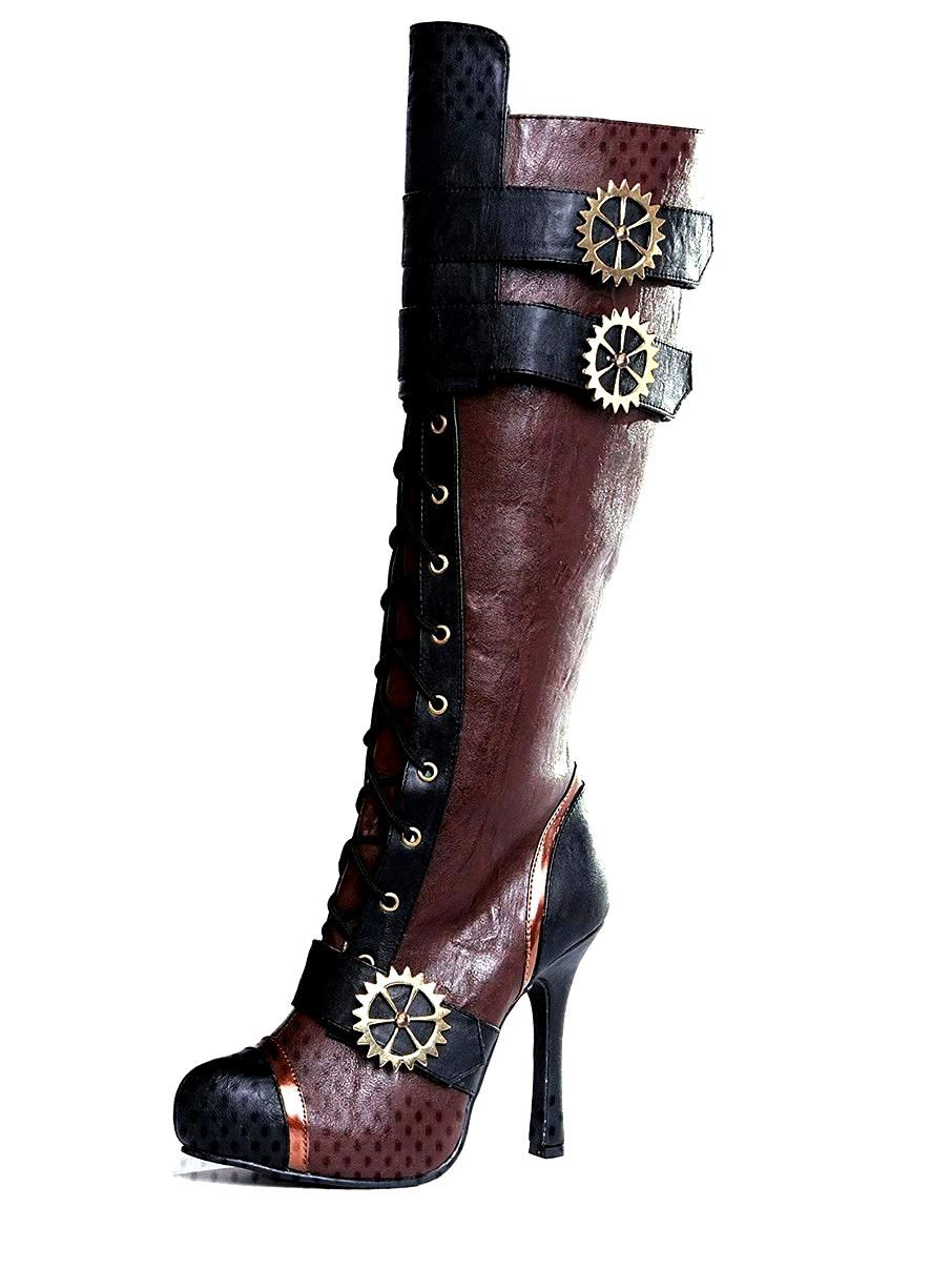View larger image of Womens Brown Steampunk Boot