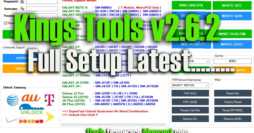 DownloadKingTools v2 6 2 Feature: Unlock Support Model
