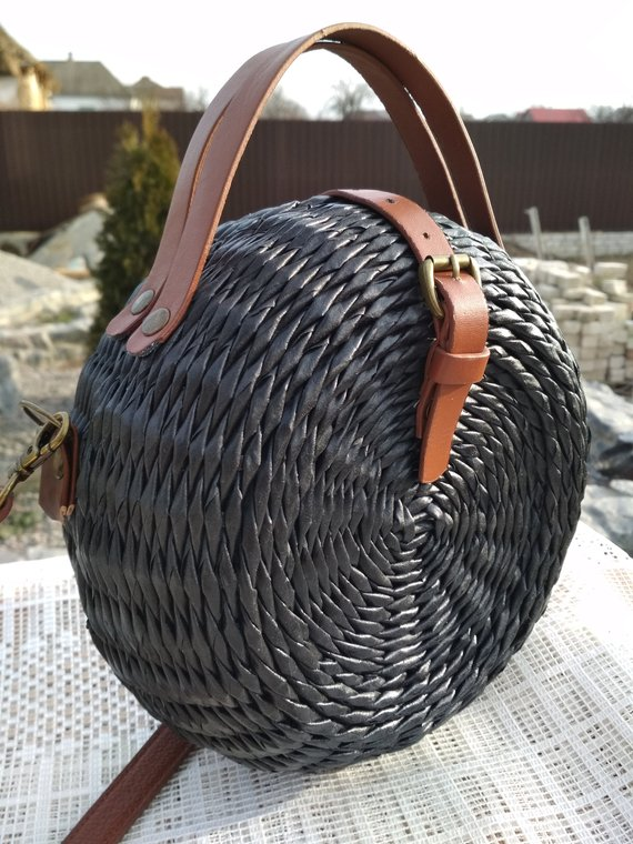 1904cfc74d2de Round wicker bag