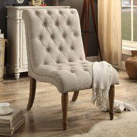 Iris Side Chair Tufted Accent Chair Side Chairs Furniture