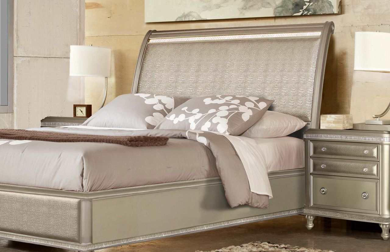 Glam Bedroom designed by RiversEdge USA | Bedroom furniture ...