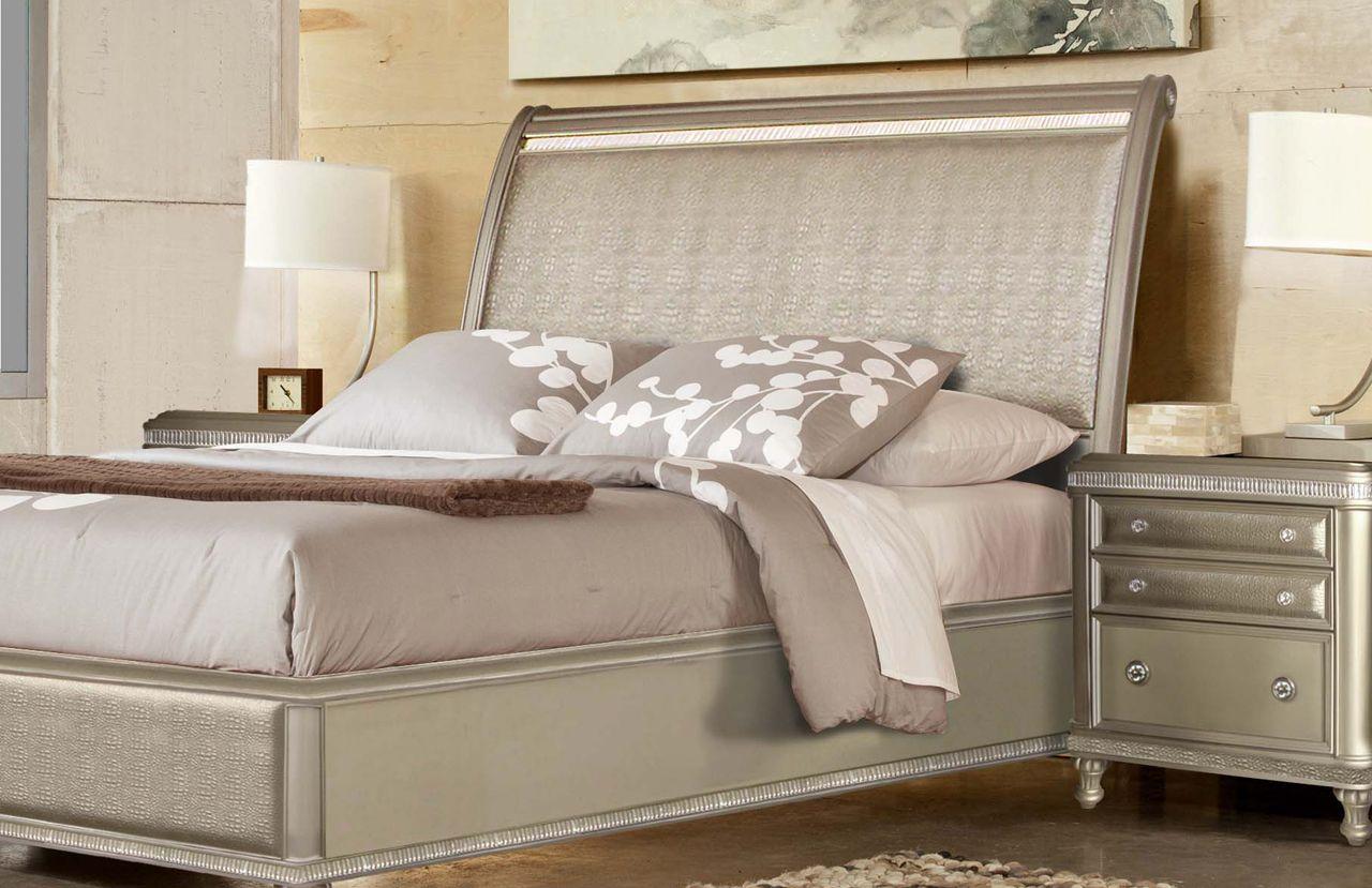 Glam Bedroom Designed By Riversedge Usa Bedroom Furniture Design